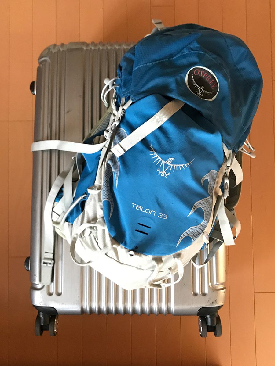 2017春インド、行きの荷物
