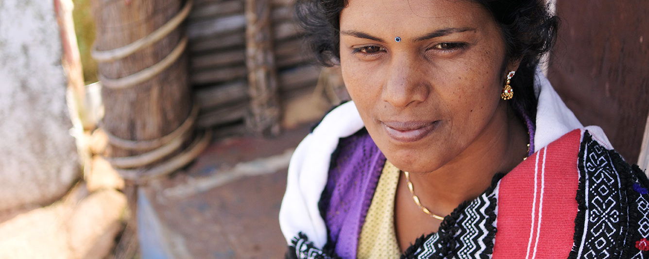 トダ族の女性