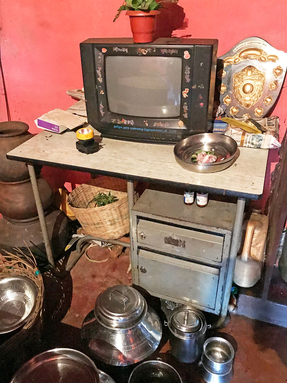 トダ族の一般家庭、テレビ
