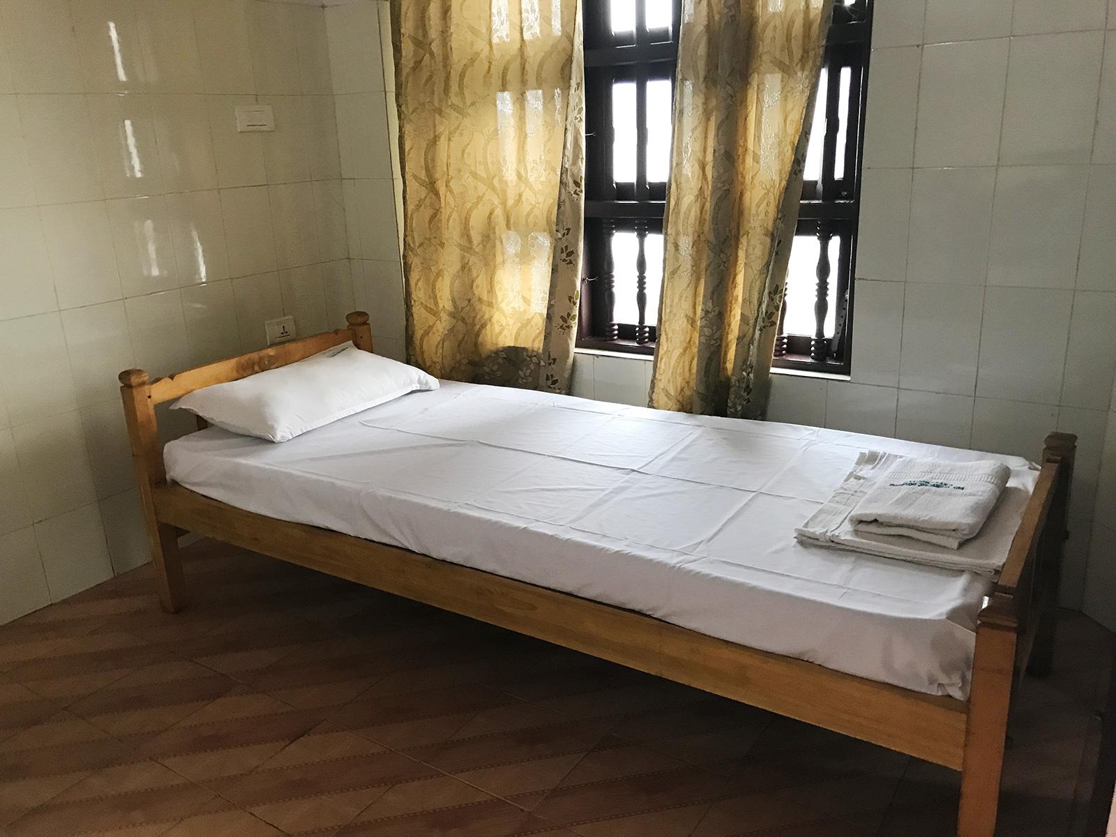 パンチャカルマ アーユルヴェーダ病院の部屋