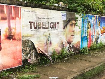 インド映画チューブライトの広告
