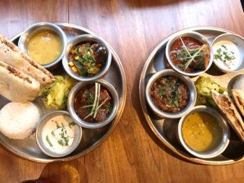 三軒茶屋シバカリーワラ カレープレート2種