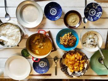 おうちインド料理、パンチャカルマを共に受けたきよちゃんのお宅