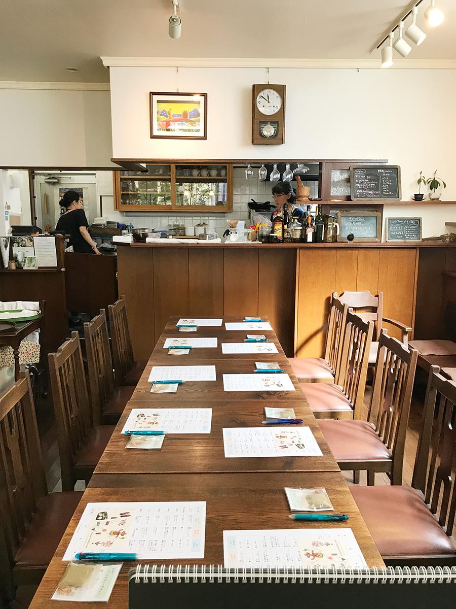 はじめてのアーユルヴェーダ@すずの木カフェ ワークショップ開始前