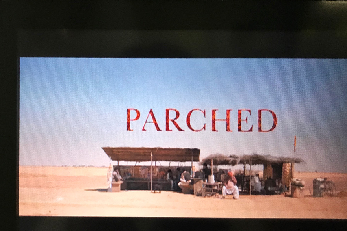 インド映画PARCHEDパーチド