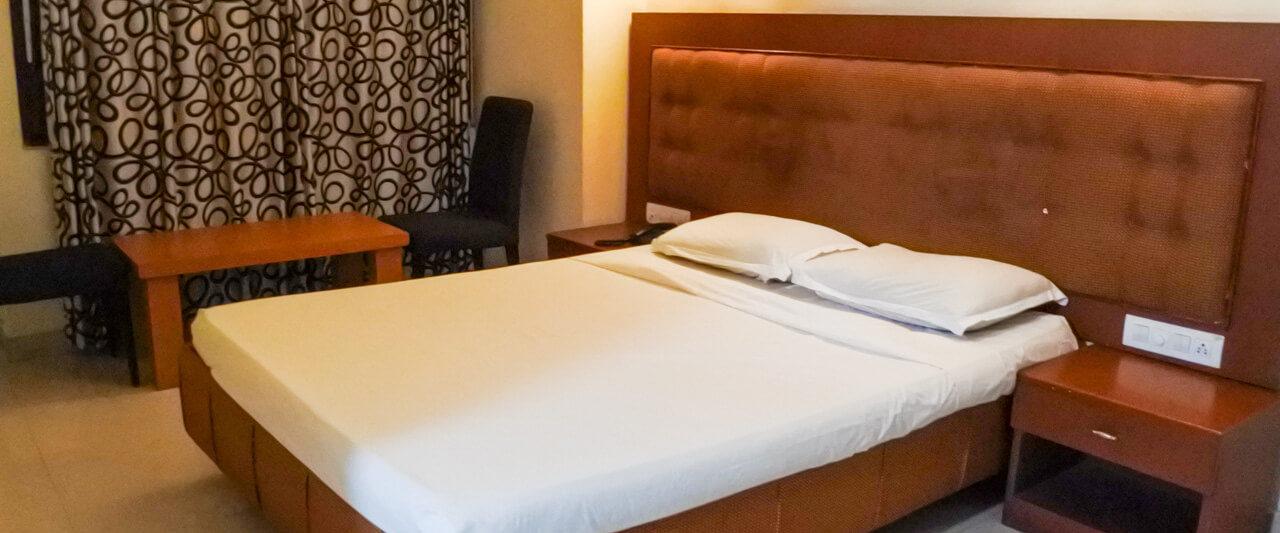 カヌールのホテルGreen park residencyの室内