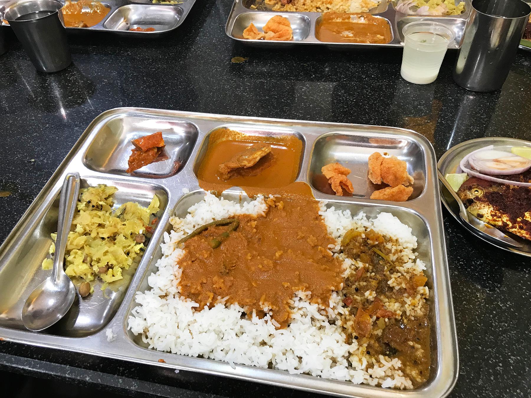 MangaloreのMachaliのフィッシュミールス