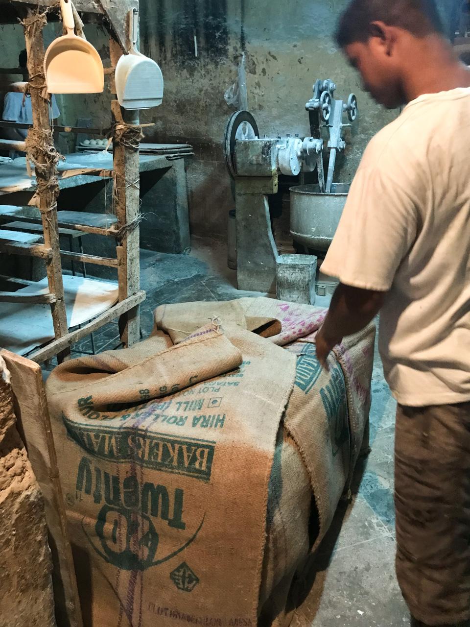 インド・ゴア州ベーカリー 発酵