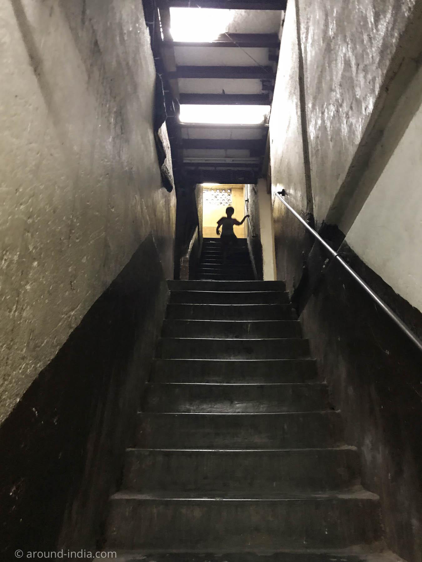 ムンバイ木版プリント工房Pracheenの入り口