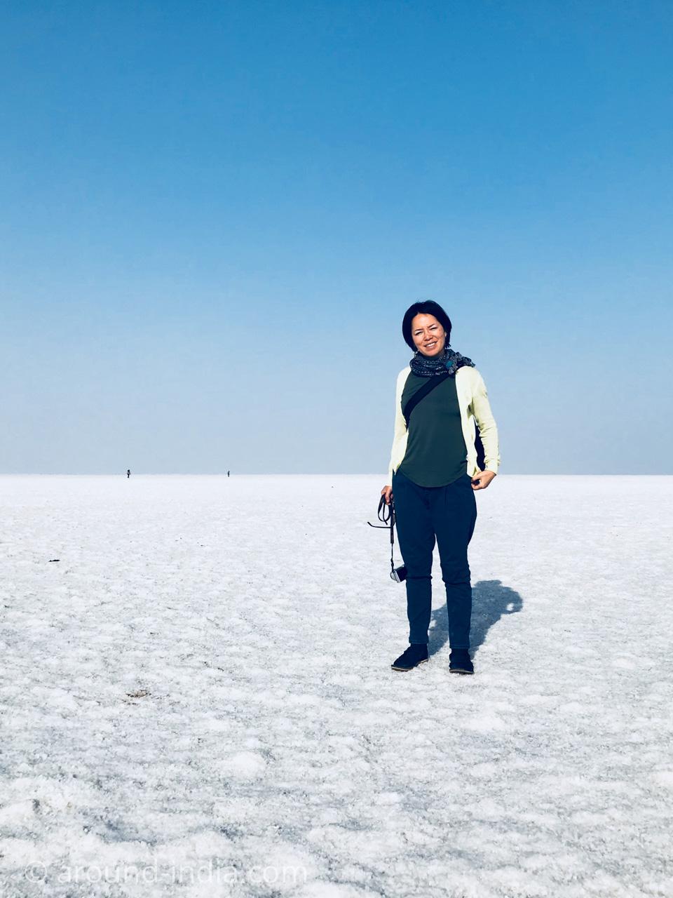 カッチ白い砂漠とAROUND INDIA田村ゆみ