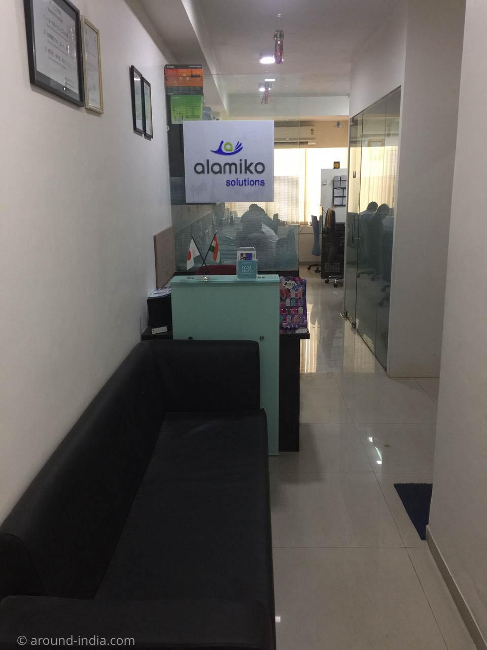 インドで働く alamikoのオフィス