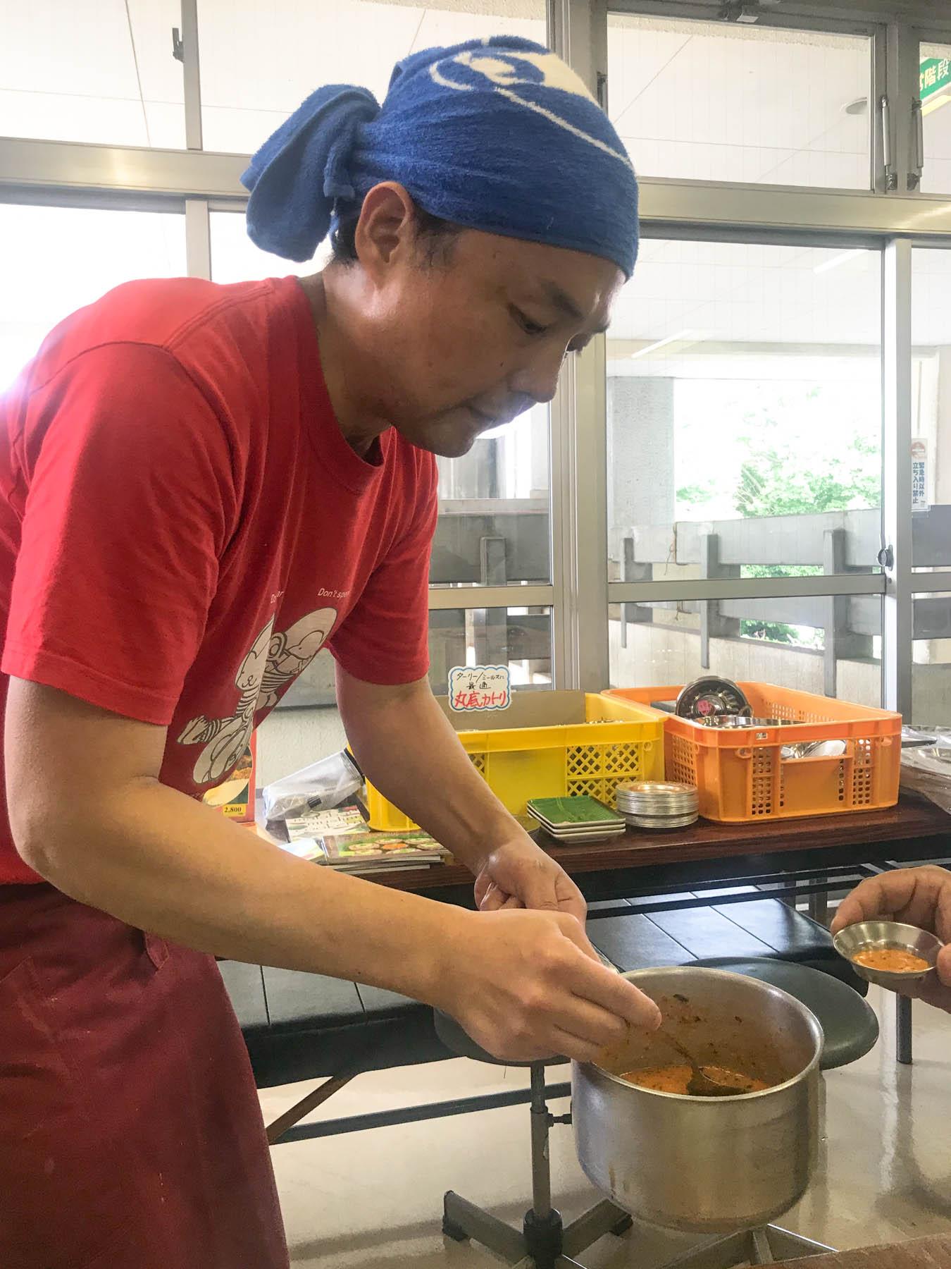 第26回印度料理研究会ミールス 代表山吉さん トマトチャトゥニ