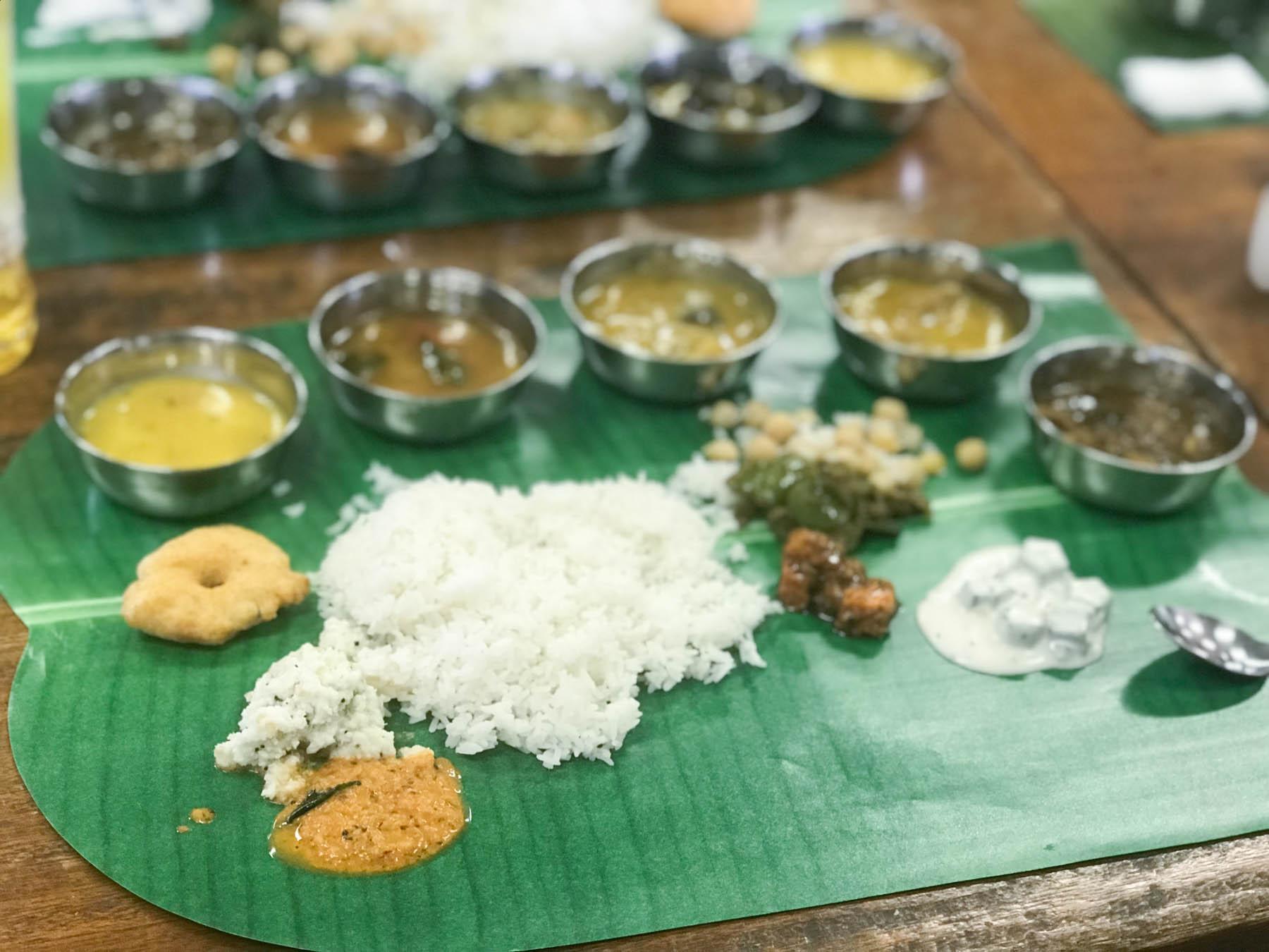 第26回印度料理研究会ミールス 完成間近