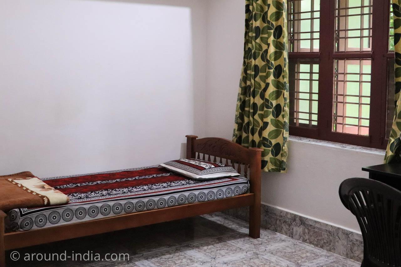 Nechiyil Ayurveda シャシクマール先生 病室