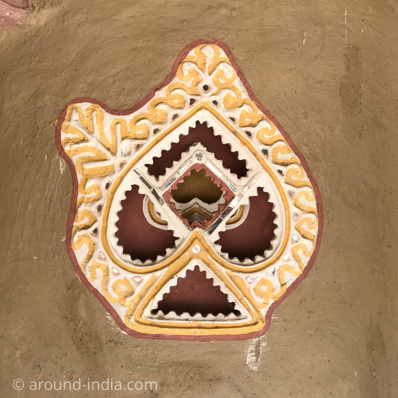 SHAAM-E-SARHADブンガの飾り