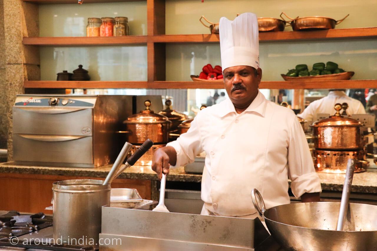 インド・デリーのホテル The Grand New Delhi シェフ