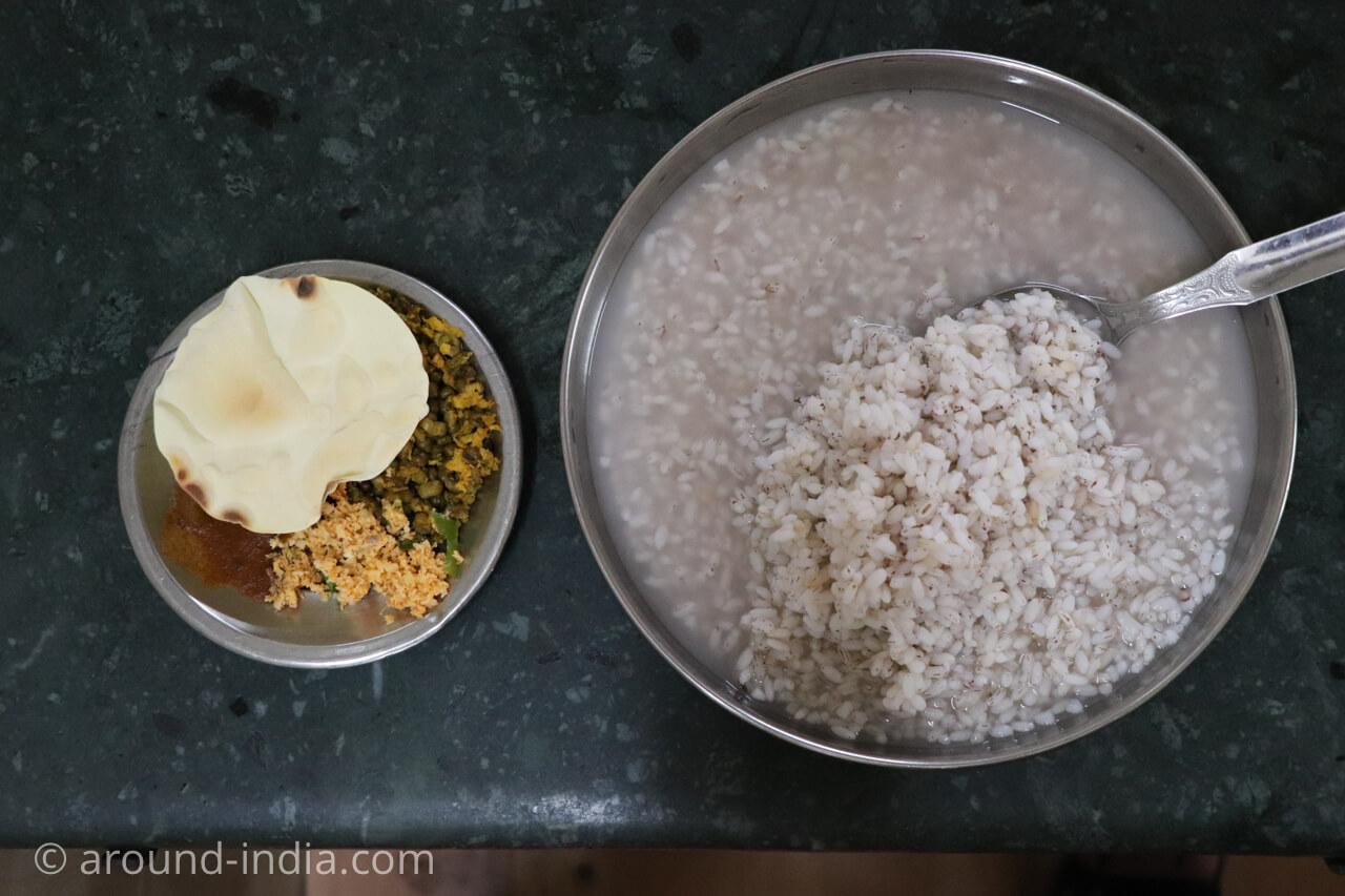 インドで胃が疲れたら、おいしいお粥を食べよう「Sree Guruvayoorappan hotel」|ケララ・トリヴァンドラム