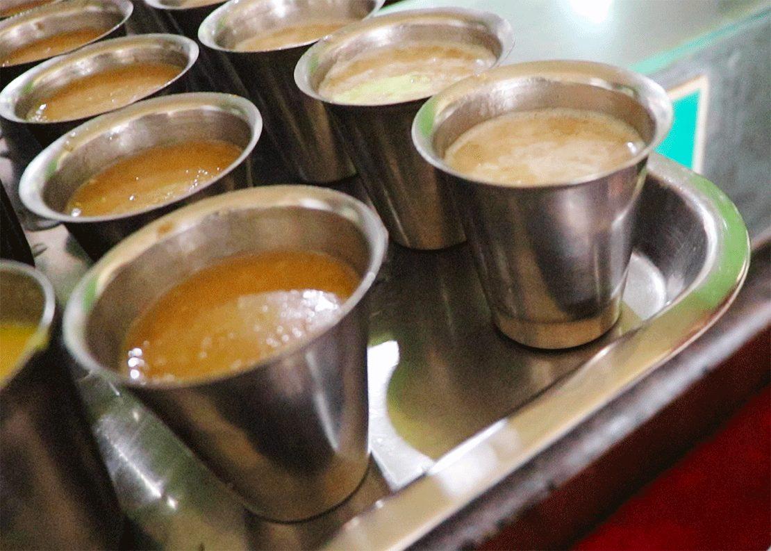 トリヴァンドラムのナチュラルフードレストランPathayamのパヤッサム スイーツ