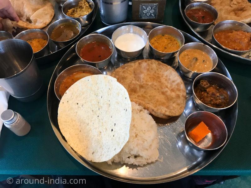 池袋南インド料理エー・ラージ A Raj ベジミールス