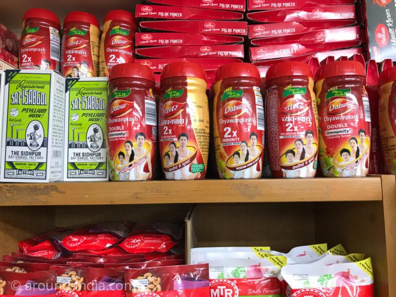 蒲田のインド食材店インドバザール
