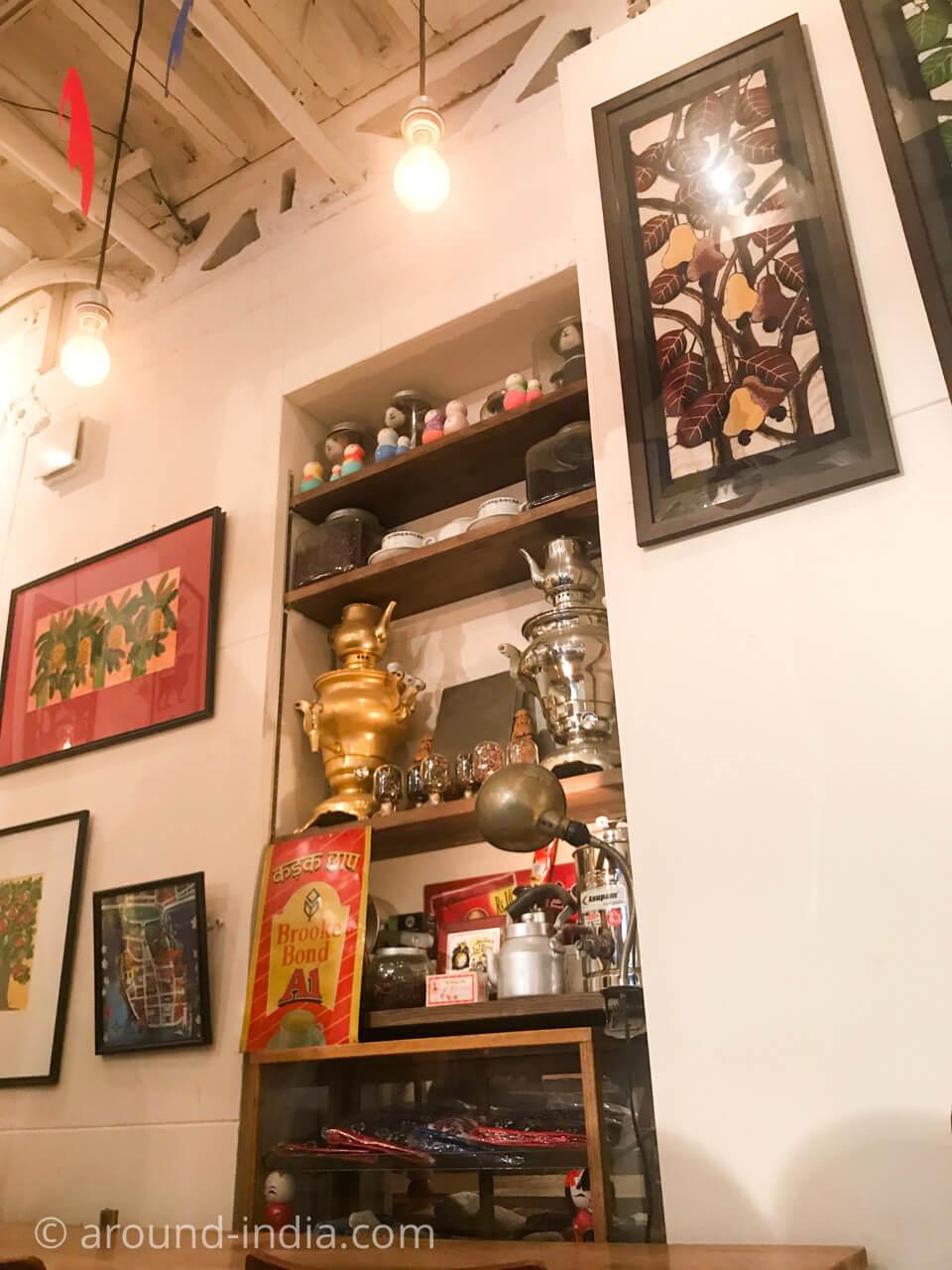 スリランカ紅茶 シンハ 横浜 店内