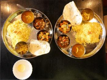 インド料理 シャージ 茅ヶ崎のミールス