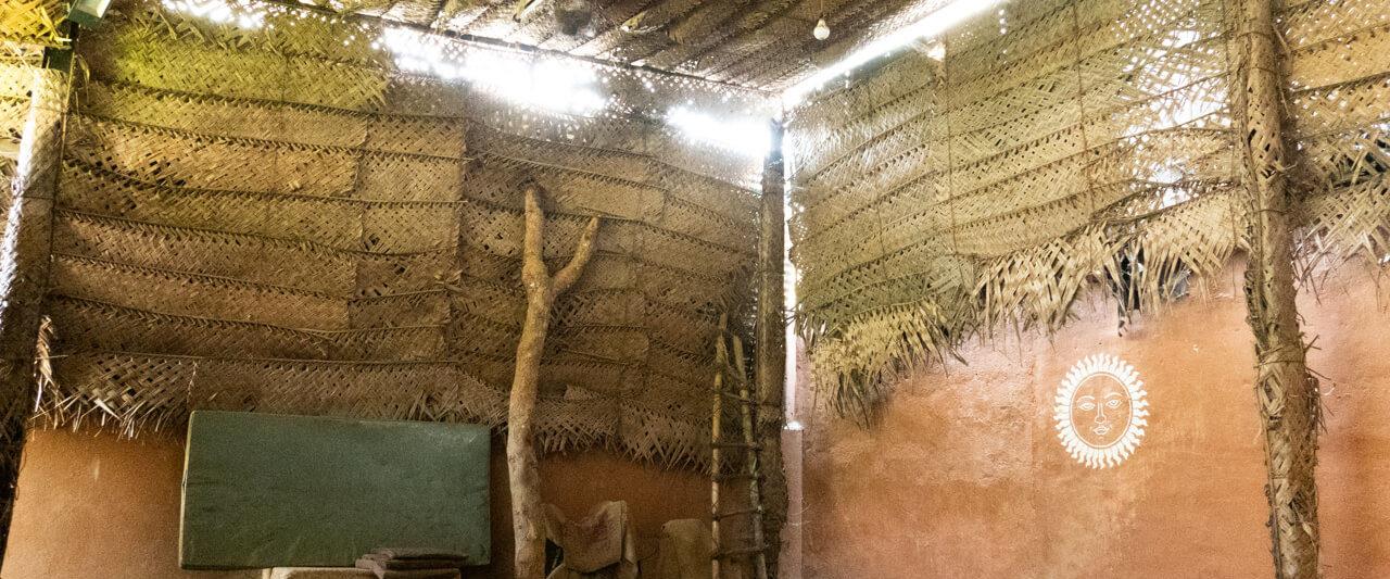 スリランカの伝統武術アンガンポラの道場