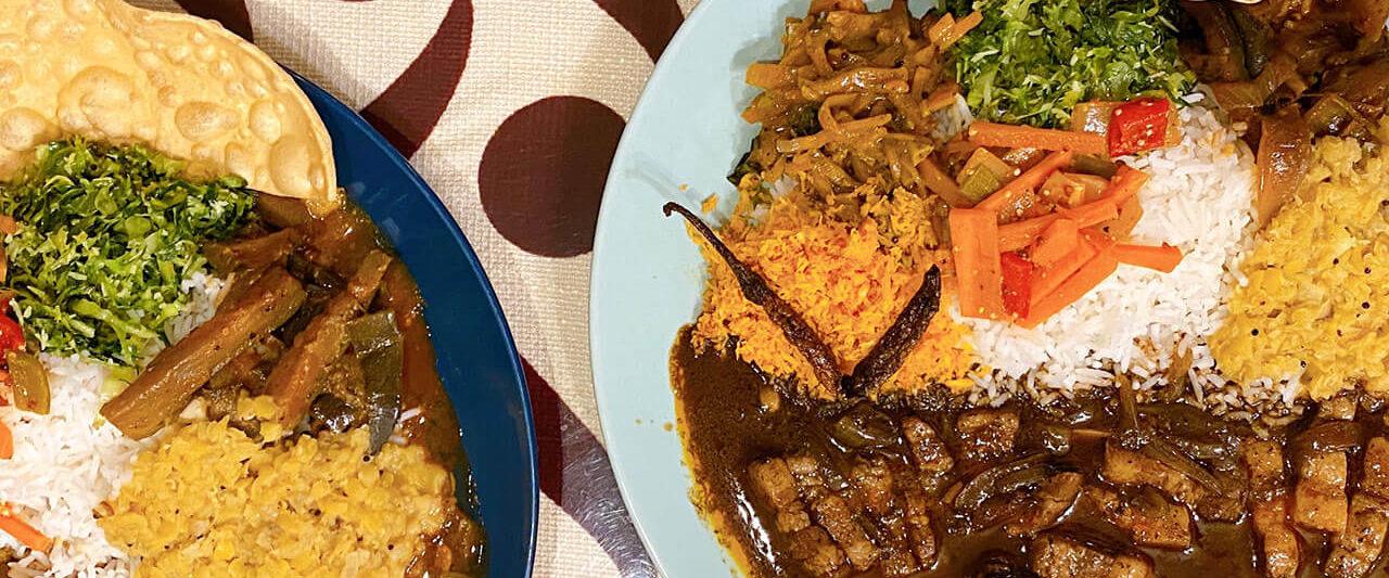 さがみ野のスリランカ料理 ロイヤルグリーンのカレー