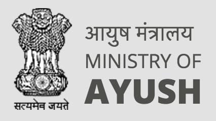 インドの伝統医療省AYUSHロゴ