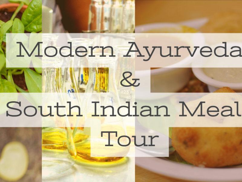 AROUND INDIA主催モダンアーユルヴェーダ会社訪問と南インドごはん