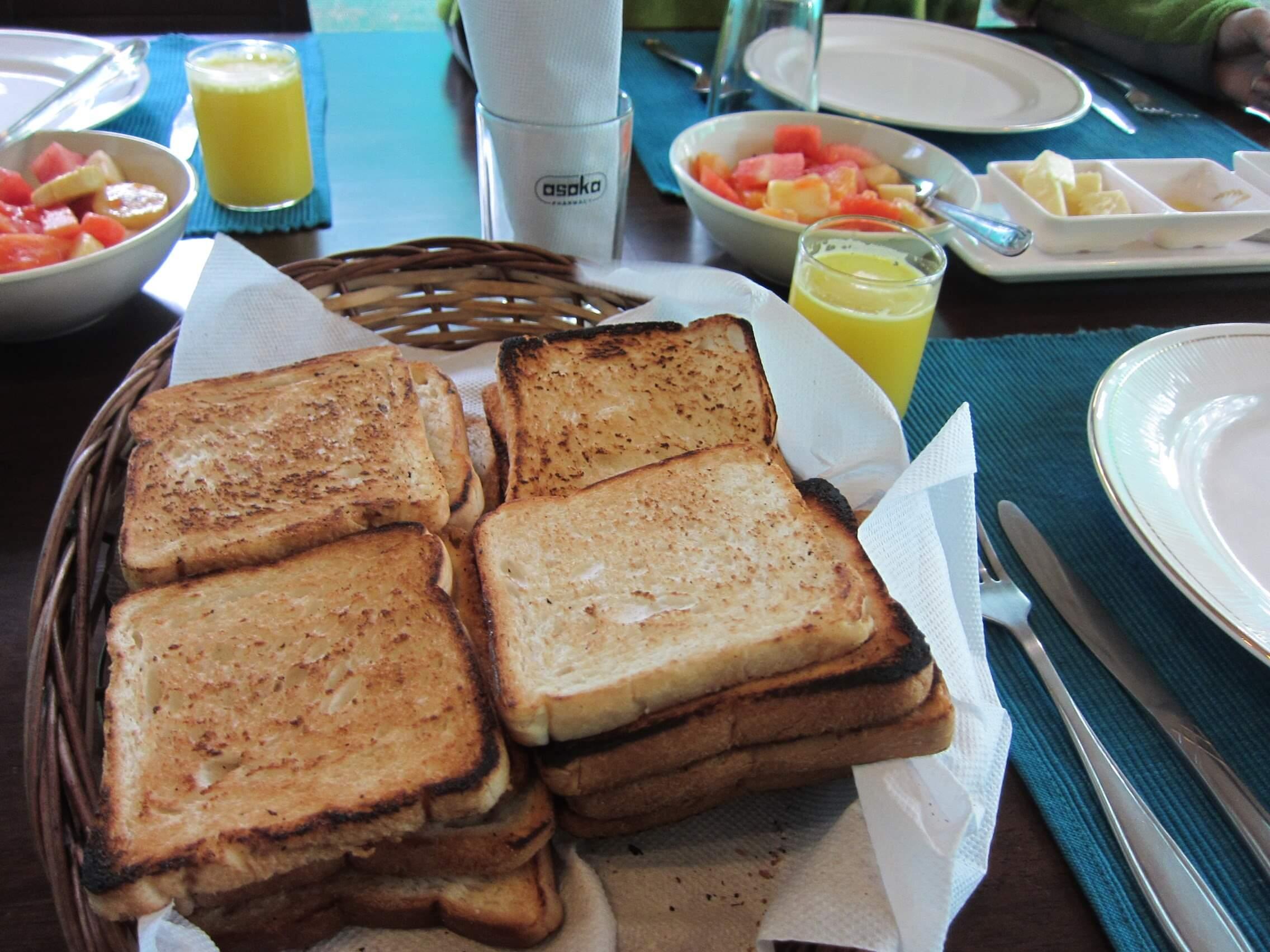 Asokamの朝食