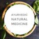 アーユルヴェーダの自然のお薬のバナー