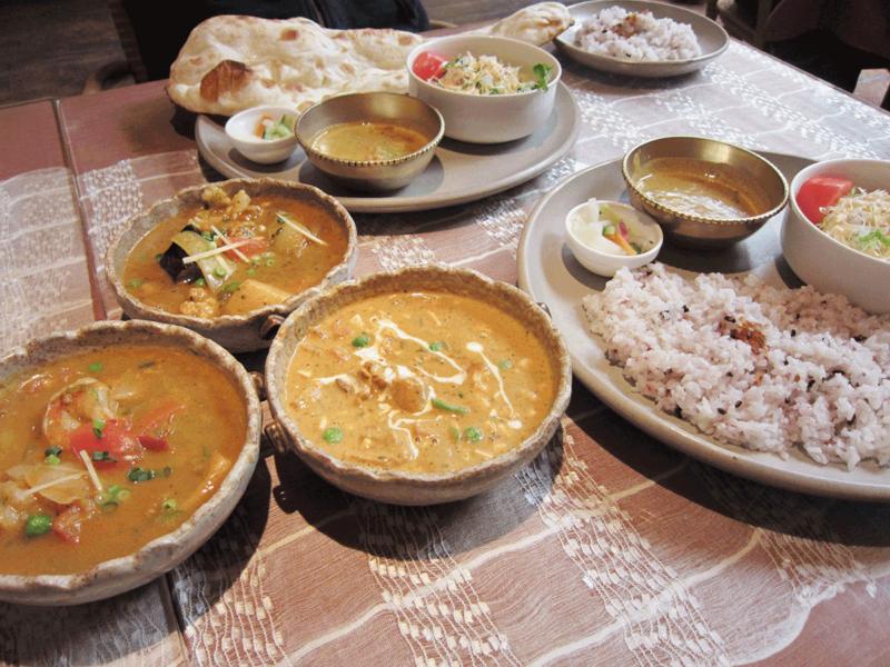 茅ヶ崎ボージャンのインド料理
