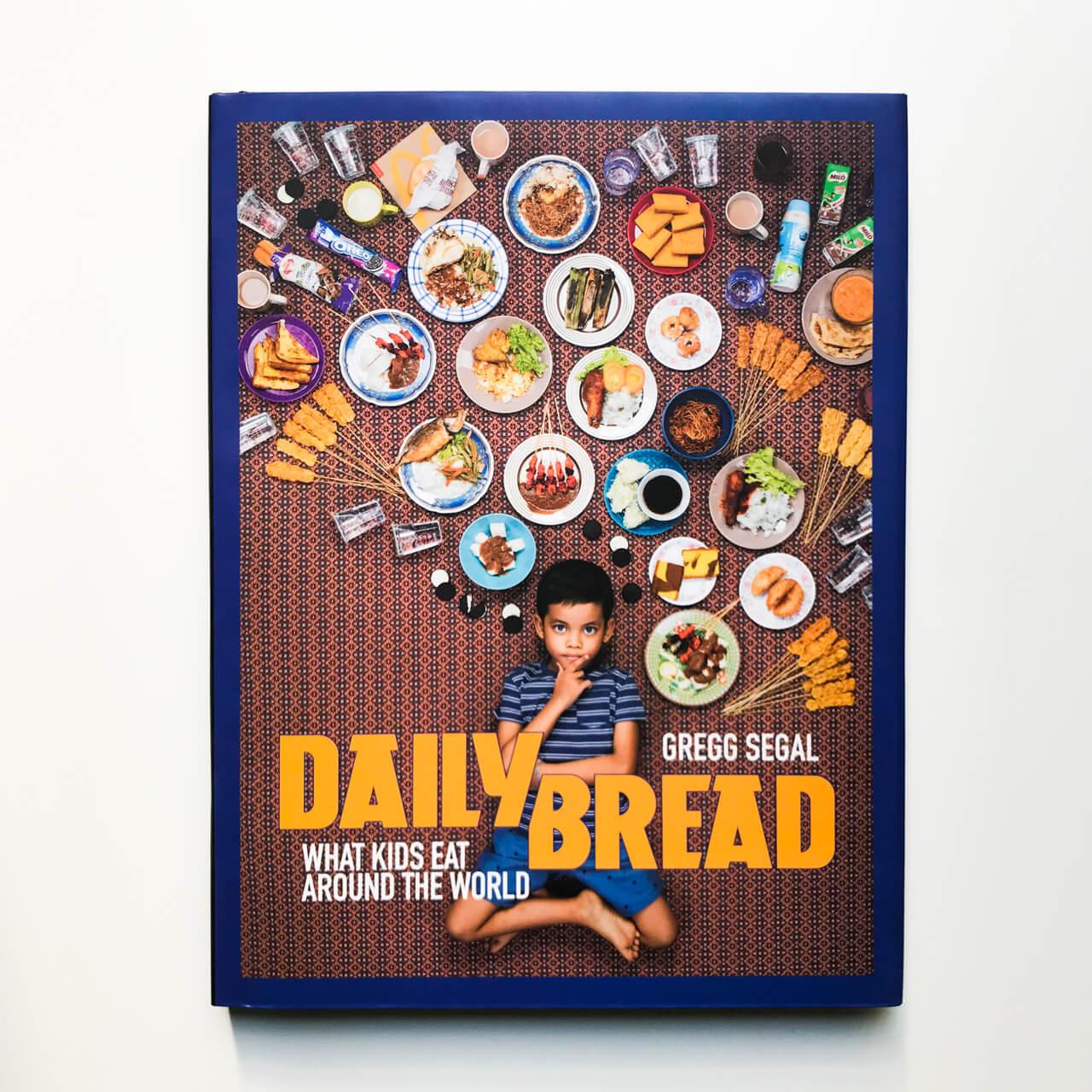 本:考えさせられる写真集「DAILY BREAD」世界の子どもたちの一週間の食事