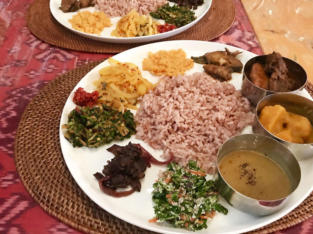 水戸のスリランカ料理コジコジ スリランカプレート