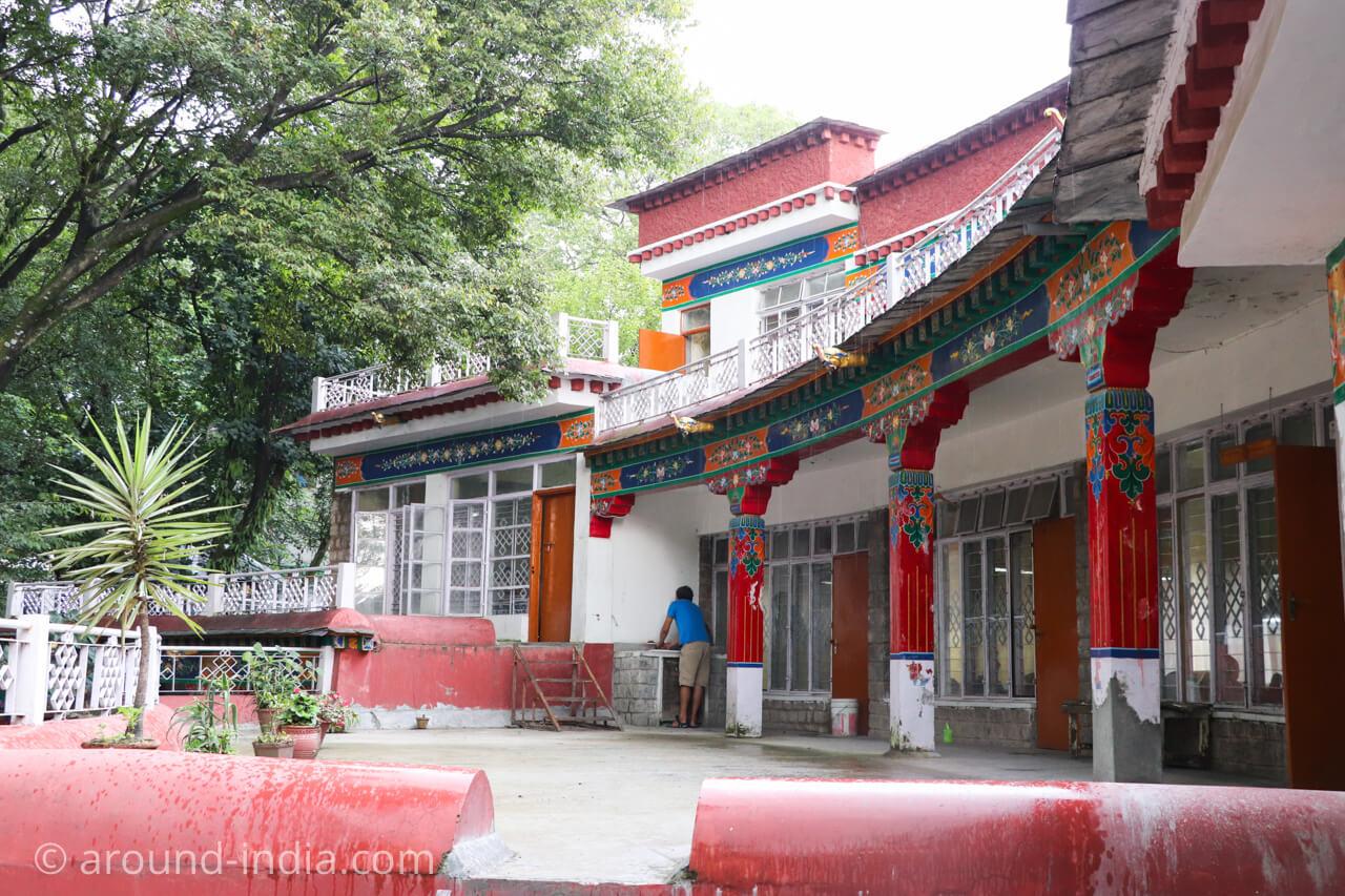 ダラムサラのノルブリンカチベット芸術 ダラムサラのノルブリンカチベット芸術 建物