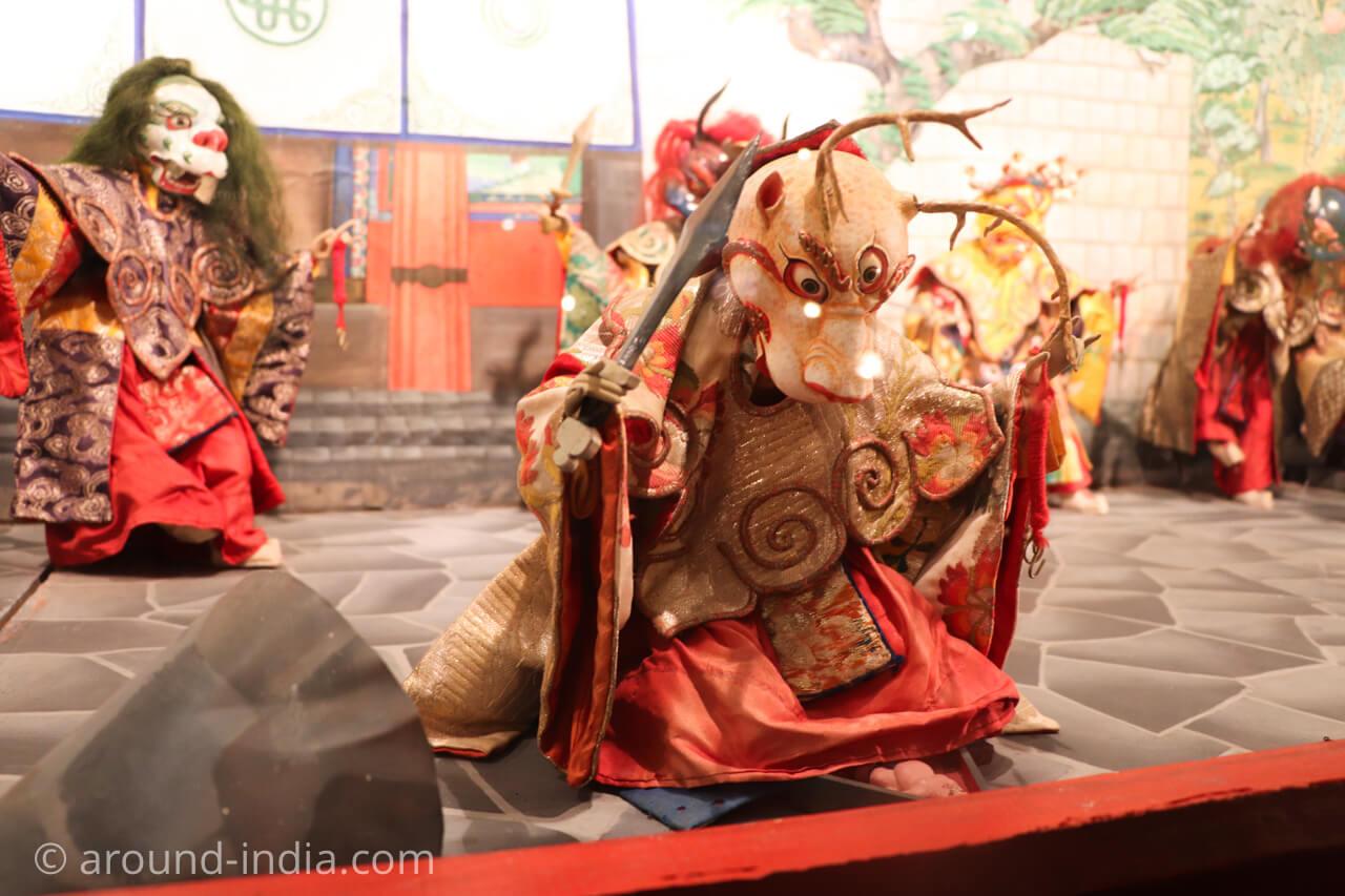 ダラムサラのノルブリンカチベット芸術 ダラムサラのノルブリンカチベット芸術 チベットのお祭