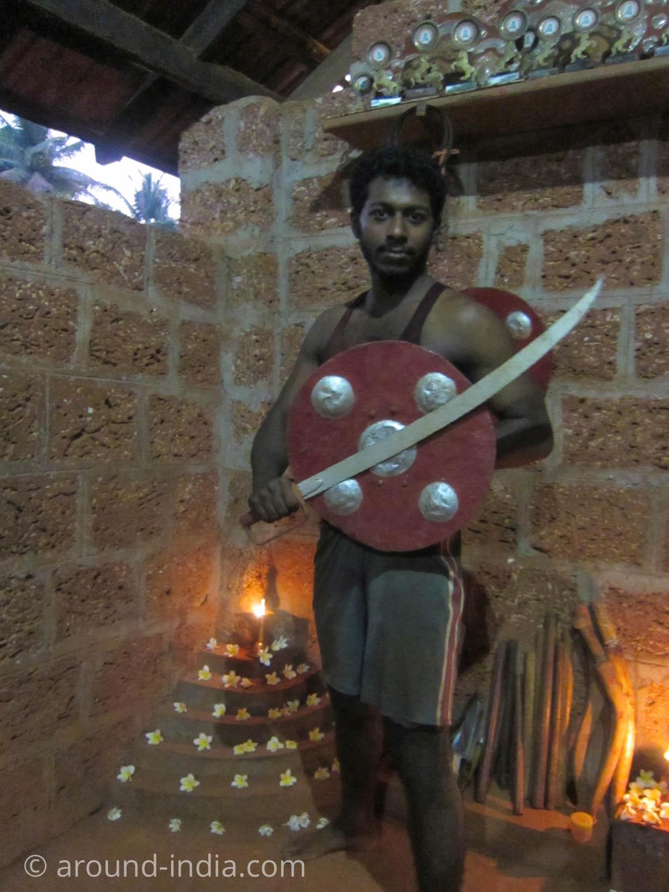 カラリパヤットゥの祭壇