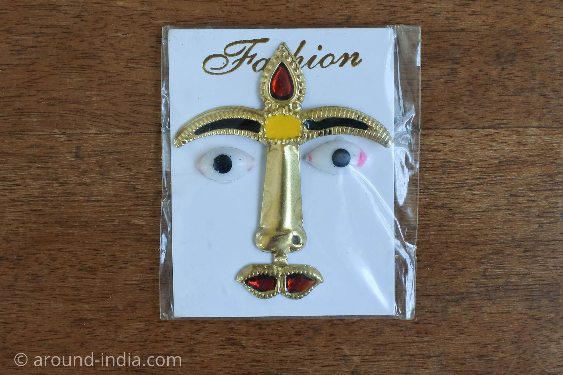 ムンバイ・ネラルのローカル神様、ステッカー