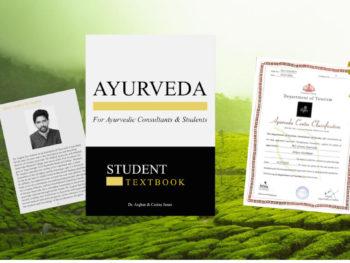 Greens Ayurveda 本出版のお知らせと認証