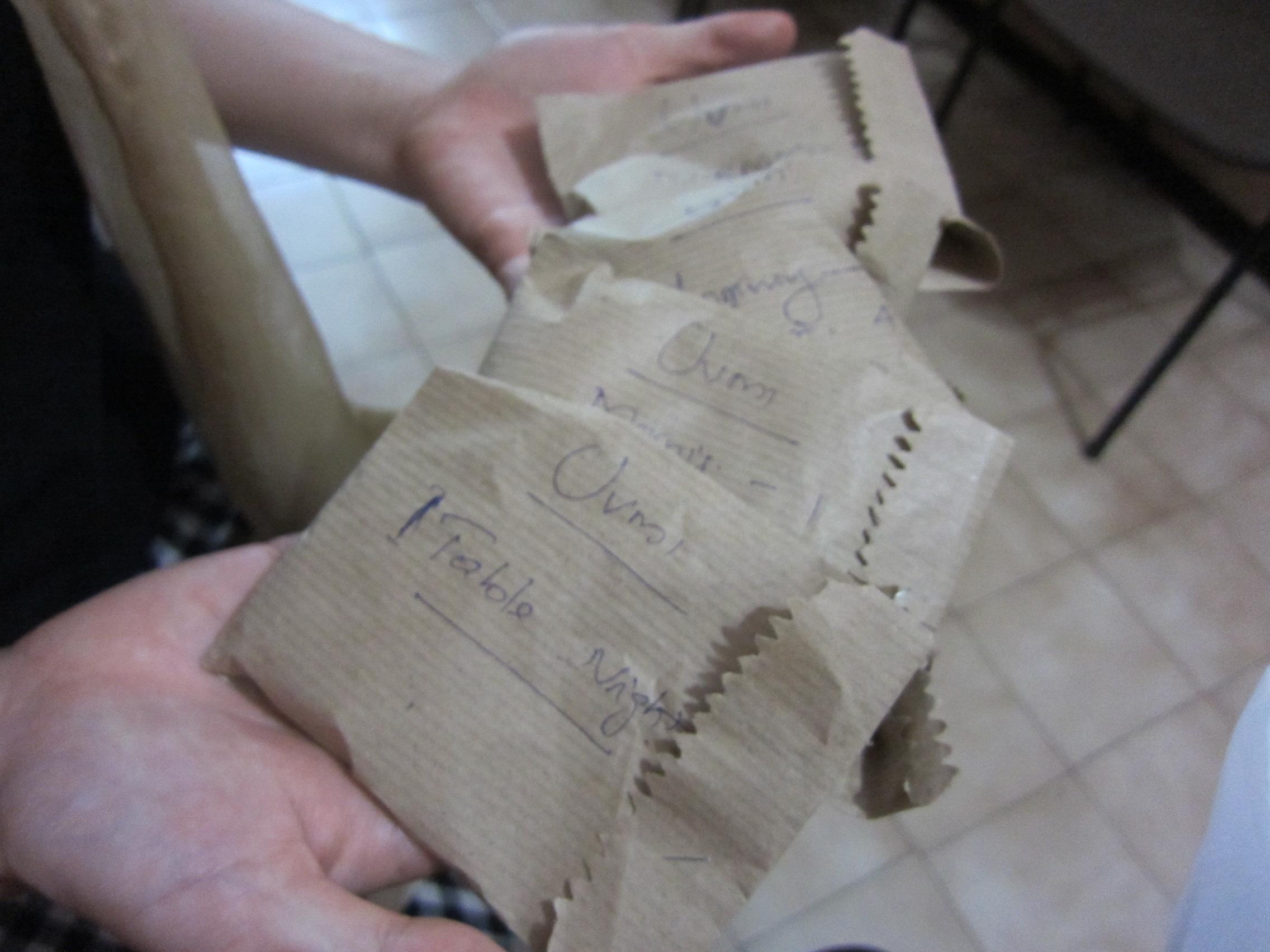 カヌールのホメオパシー診療所 処方されたお薬
