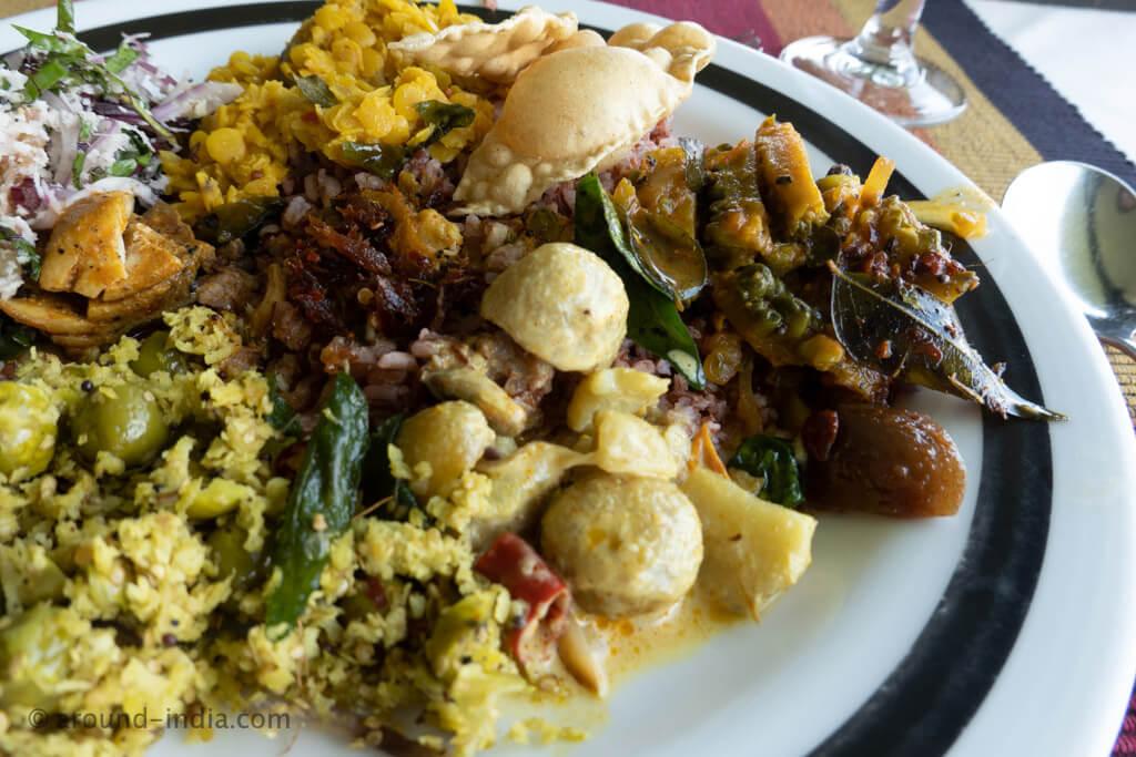 ヘリタンスカンダラマのスリランカカレー