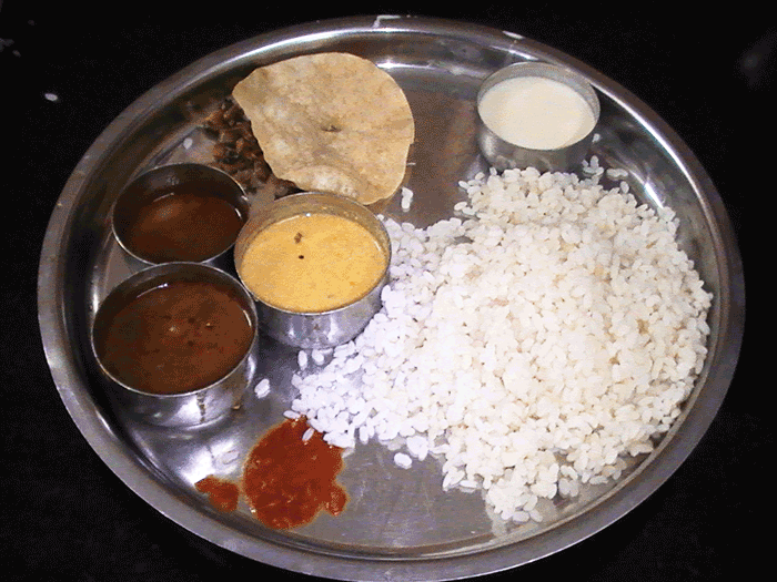 インド料理レストランチェーン indian coffee houseのミールス
