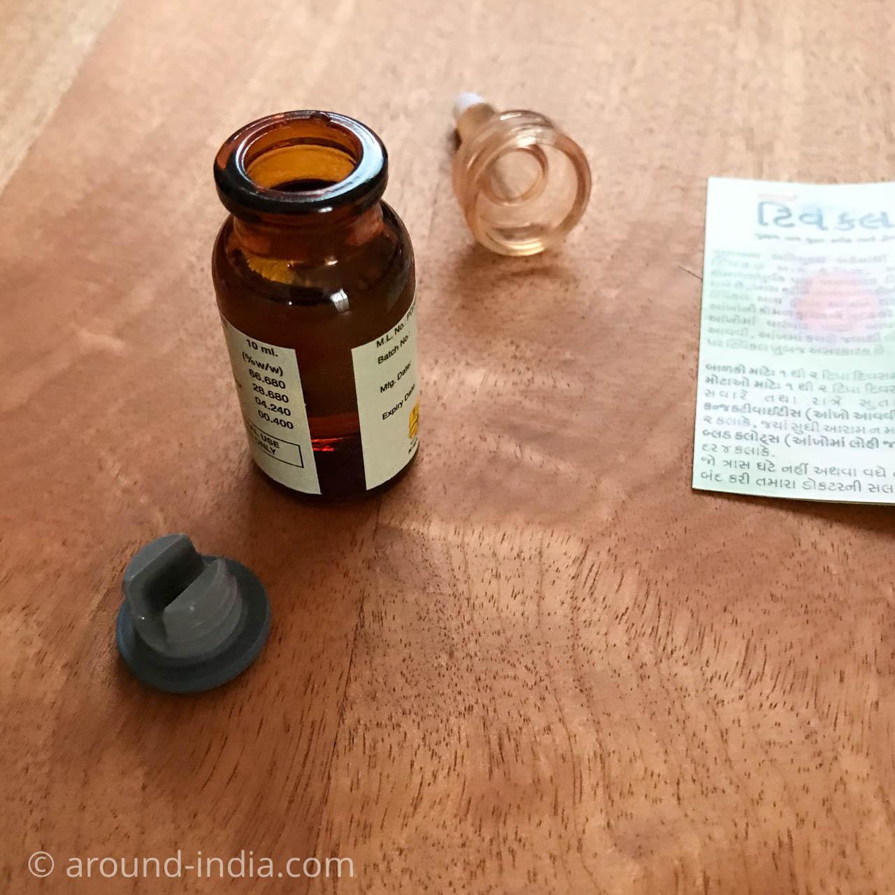 インドの目薬 ユナニ医学 ローズ
