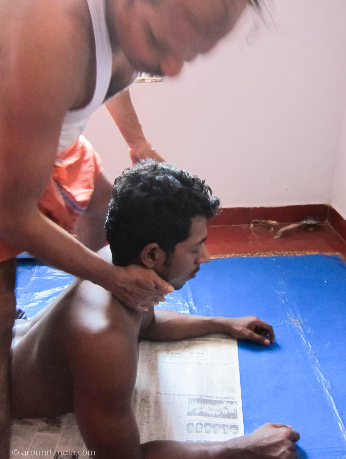 MGS Kalari Dineshan Gurukkalのマッサージ