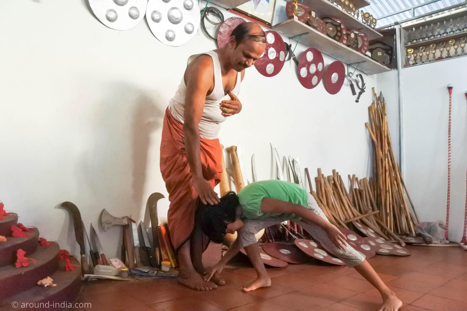 MGS Kalari Dineshan Gurukkal