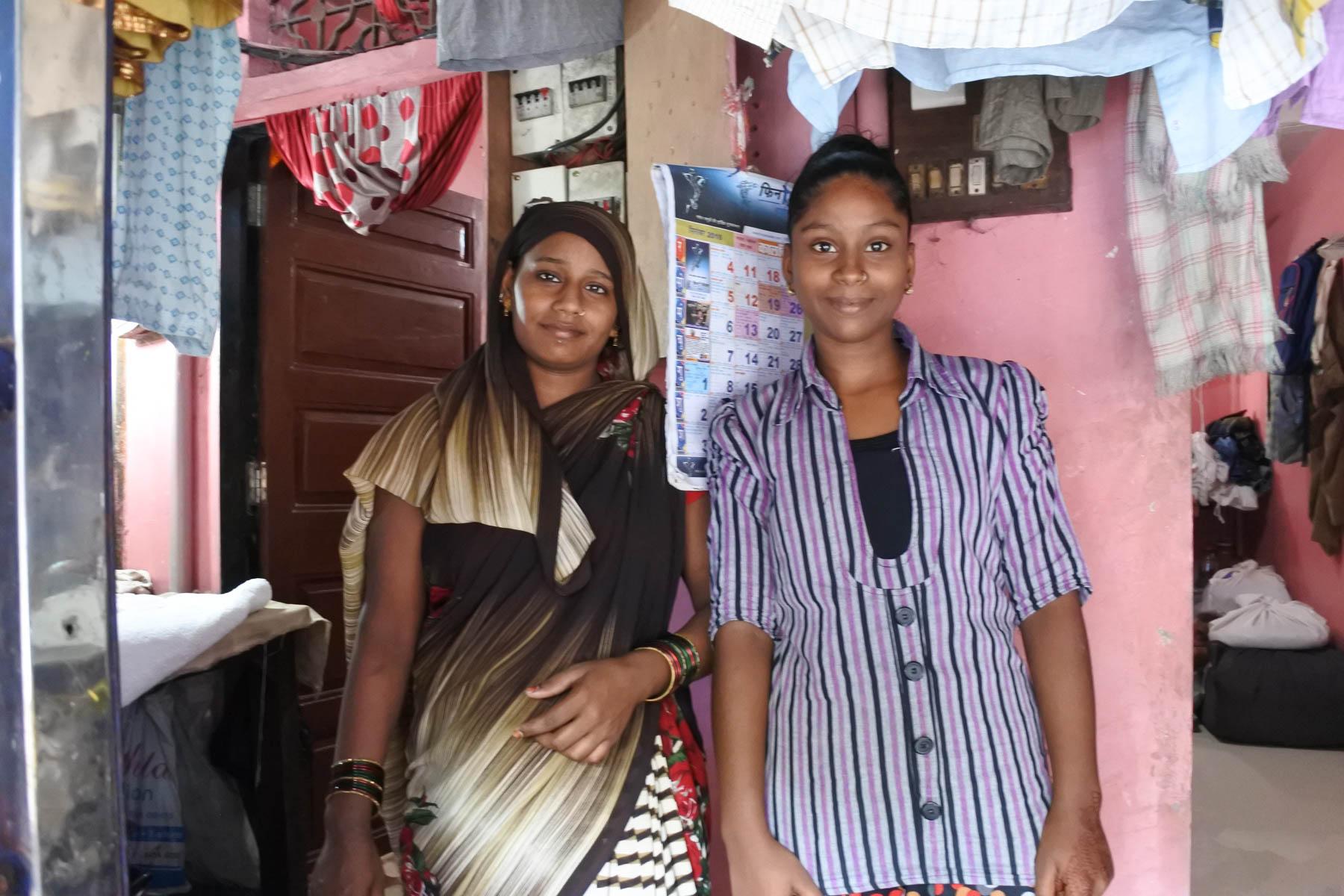 ムンバイ 巨大洗濯工場 ドービーガート 女性陣