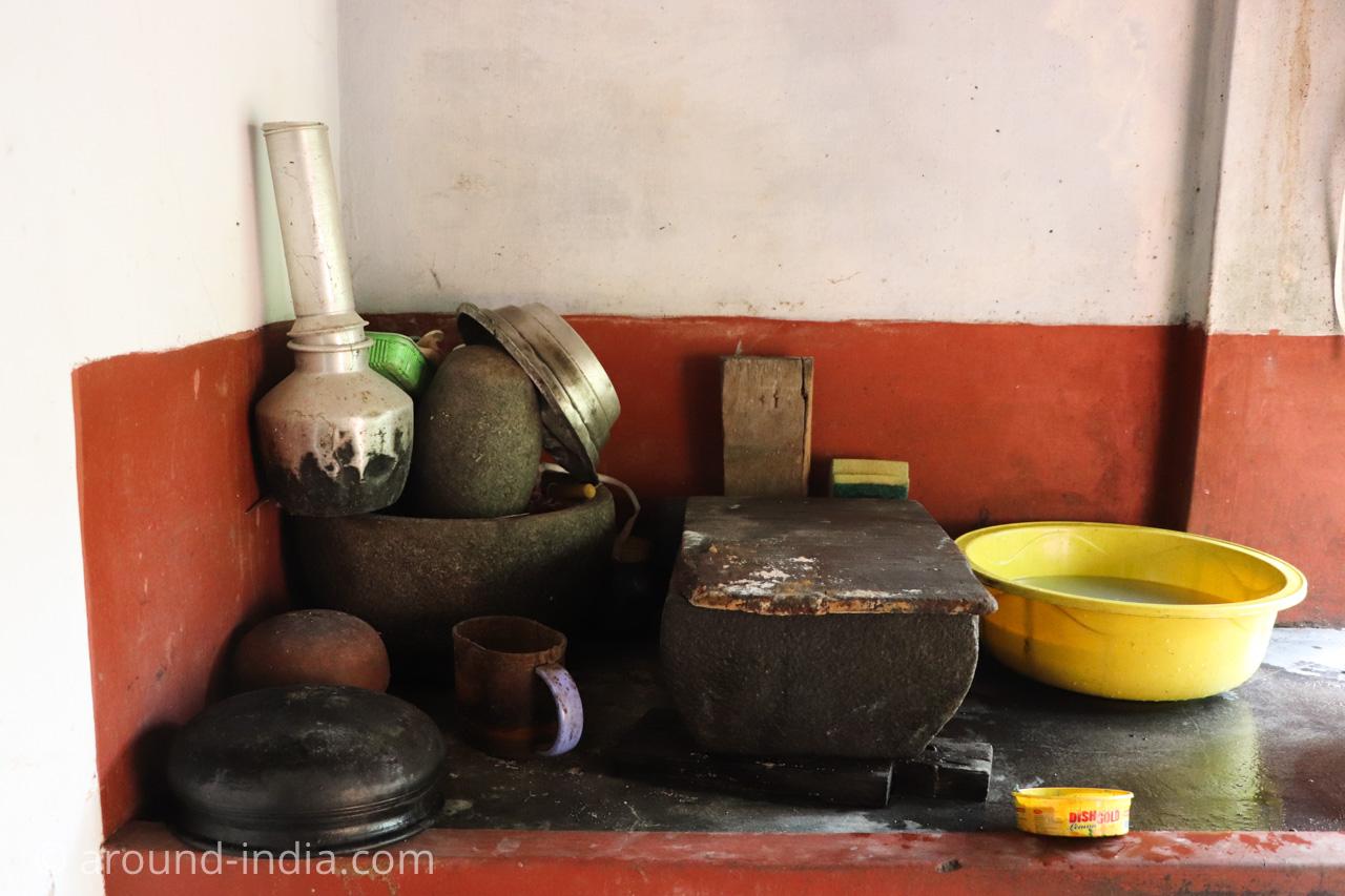ケララ料理プットゥー蒸し器アルミ 家庭