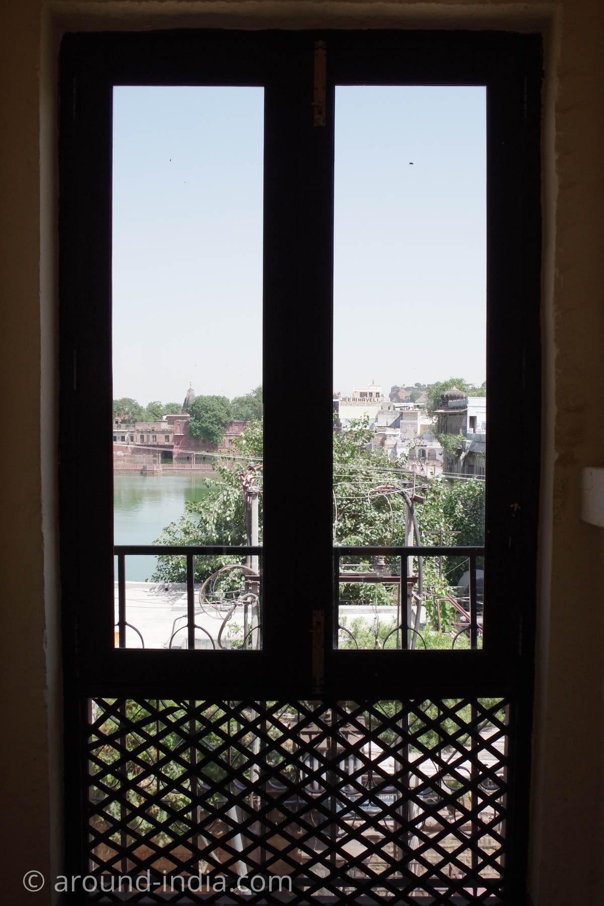 ジョードプルの邸宅レストラン Indiqueの景色