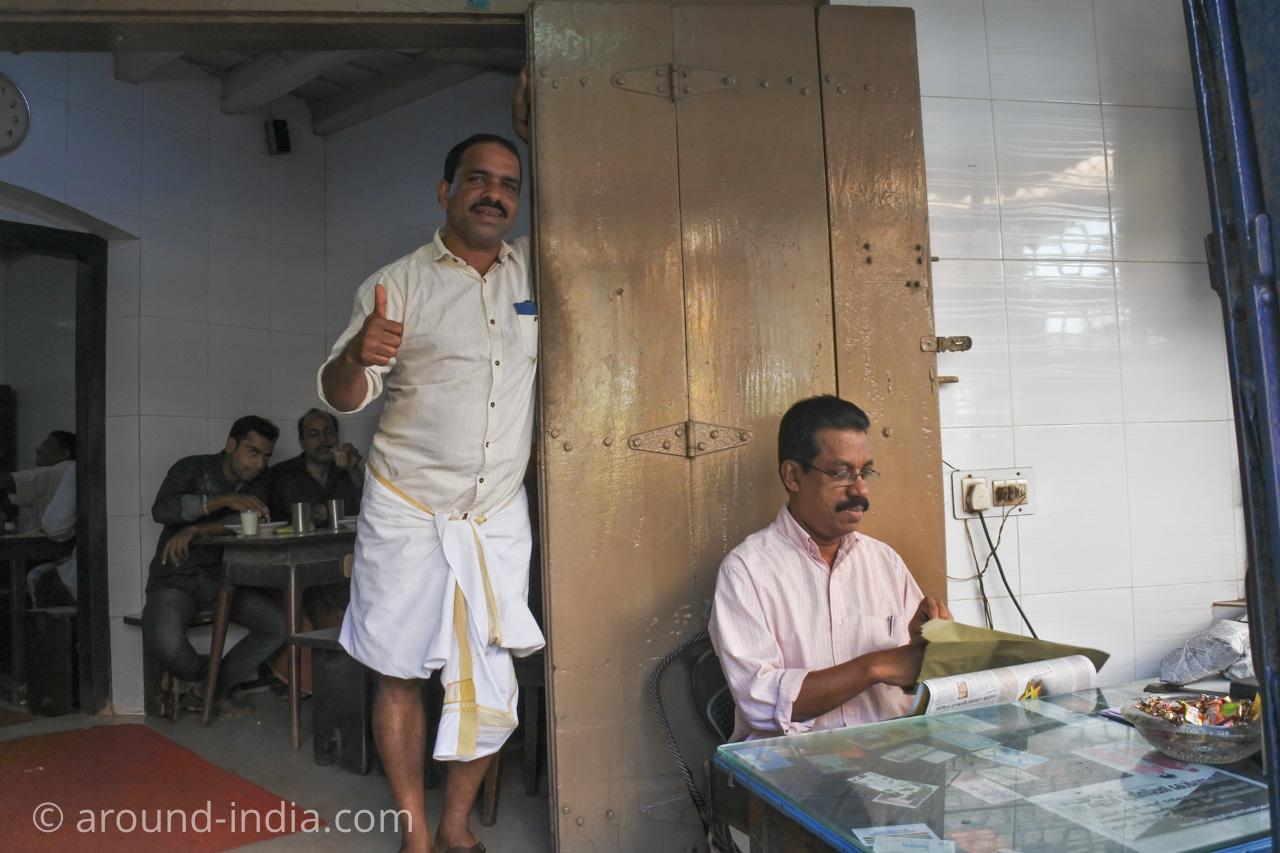 ケララ伝統料理食堂Onakkan Bharati